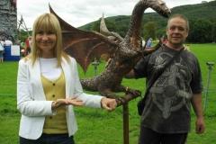 Sian Lloyd introduces Brunhilde the Dragon
