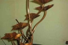 Copper fountain