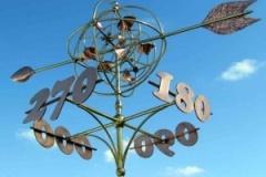 Aviator wind sculpture