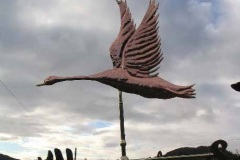 Flying Swan weathervane