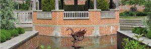 Dragon fountain