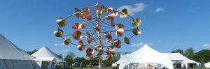 Wind sculpture Saturn at living crafts