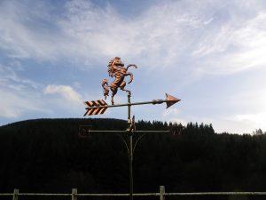 Kent Horse weathervane.