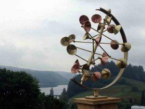 Wind sculpture inBrass & Copper