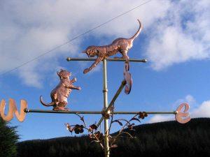 cats-weathervane